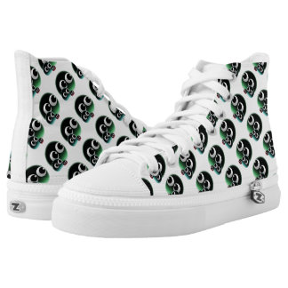 Abstract bubble family High-Top sneakers