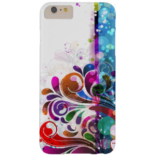 Abstract Bubbles and Swirls Barely There iPhone 6 Plus Case