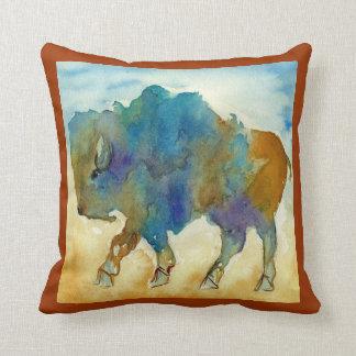 Abstract Buffalo Pillow