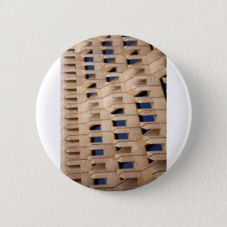 Abstract building pinback button