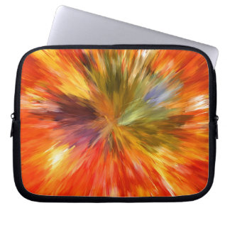 Abstract Burst Laptop Sleeves