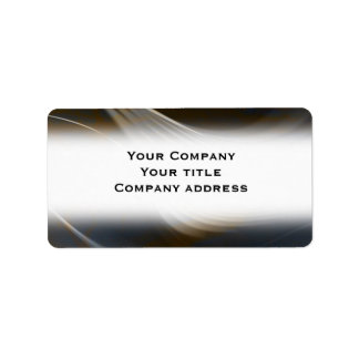 Abstract Business Address Avery Label