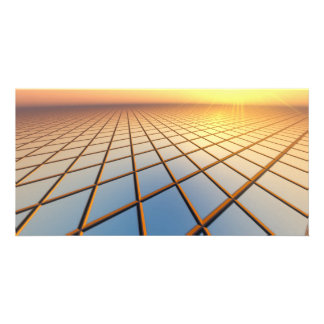 Abstract Business Background Photo Card