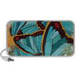 Abstract butterflies 1 iPod speaker