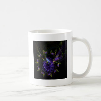 Abstract butterflies in a swirl coffee mug