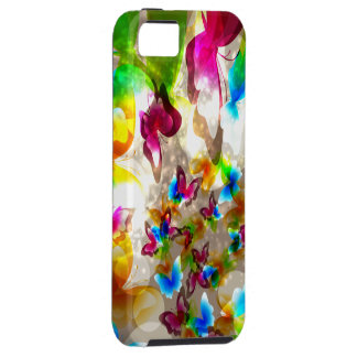 Abstract Butterflies iPhone SE/5/5s Case