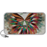 Abstract butterfly 2 travelling speaker
