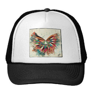 Abstract butterfly 2 trucker hat