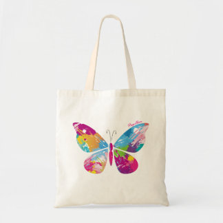 Abstract Butterfly Budget Tote Bag