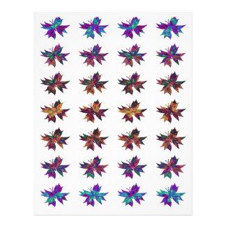 Abstract Butterfly Batik Scrapbooking Paper