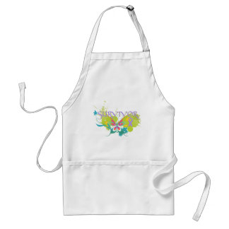 Abstract Butterfly Cancer Survivor Apron