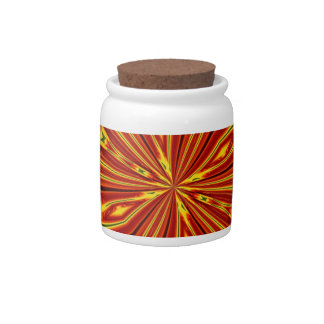 Abstract Butterfly Candy Jars