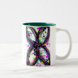 Abstract Butterfly Coffee Mugs