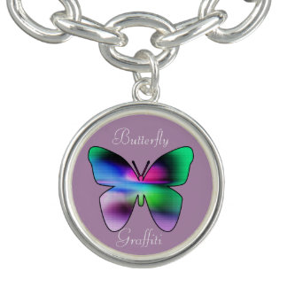 Abstract Butterfly Colorful Bracelets