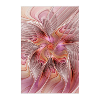 Abstract Butterfly Colorful Fantasy Fractal Art