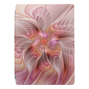 Abstract Butterfly Colorful Fantasy Fractal Art iPad Pro Cover
