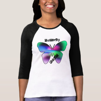 Abstract Butterfly Colorful T-Shirt