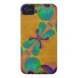 Abstract Butterfly fractal art Blackberry Case