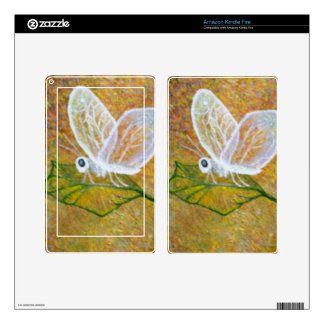 Abstract Butterfly Kindle Fire Decals