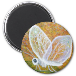 Abstract Butterfly Magnet
