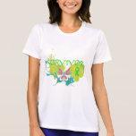 Abstract Butterfly Non-Hodgkin's Lymphoma Survivor T-shirt
