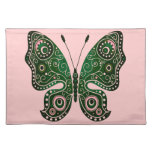 Abstract Butterfly Place Mat