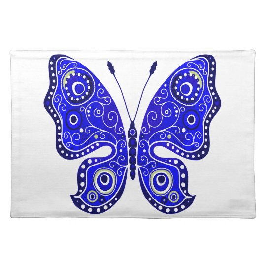 Abstract Butterfly Placemat