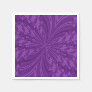 Abstract Butterfly,PURPLE-PAPER PARTY NAPKINS