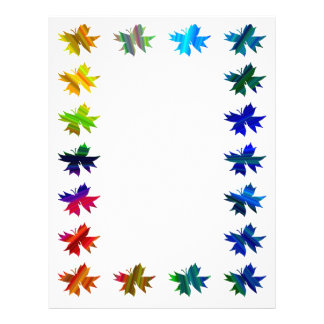 Abstract Butterfly Rainbow Journaling Paper
