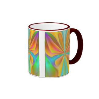 Abstract Butterfly Ringer Mug