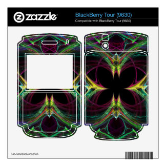 Abstract Butterfly Decals For BlackBerry