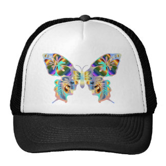 Abstract Butterfly Trucker Hat