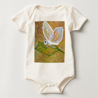 Abstract Butterfly Baby Bodysuit