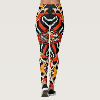 Abstract Butterfly Wings Leggings