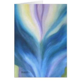 Abstract by Laurie Mitchell Card