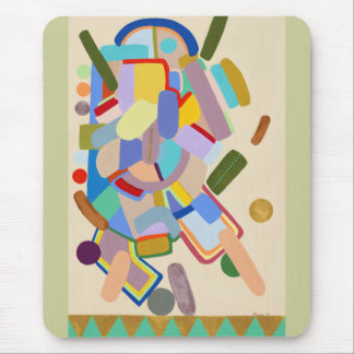 """""""Abstract by Ruchell Alexander Mouse Pads"""