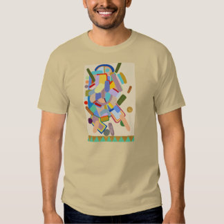 """Abstract"" by Ruchell Alexander T-Shirt"