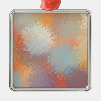 Abstract C Version 2 Metal Ornament