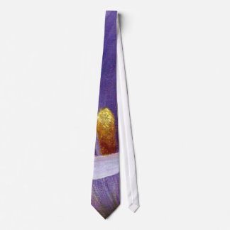 Abstract Calla Lily In Purple Tie