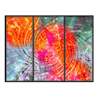 Abstract Called Bliss Postcard