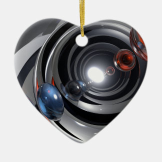 Abstract Camera Lens Ceramic Ornament