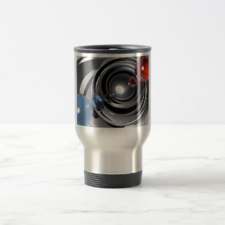 Abstract Camera Lens Travel Mug