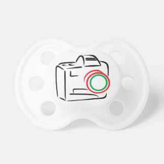 Abstract Camera Pacifier