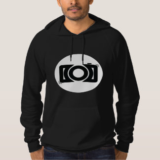 Abstract Camera Pullover Hoodie