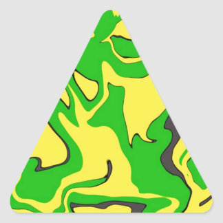 Abstract Camo Design Triangle Stickers
