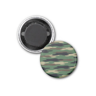 Abstract Camo Refrigerator Magnets