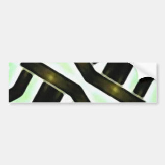Abstract Camouflage Bumper Sticker