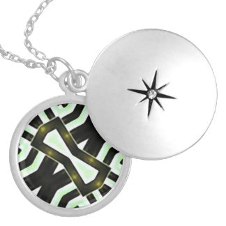 Abstract Camouflage Necklace
