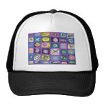 abstract candy box hat