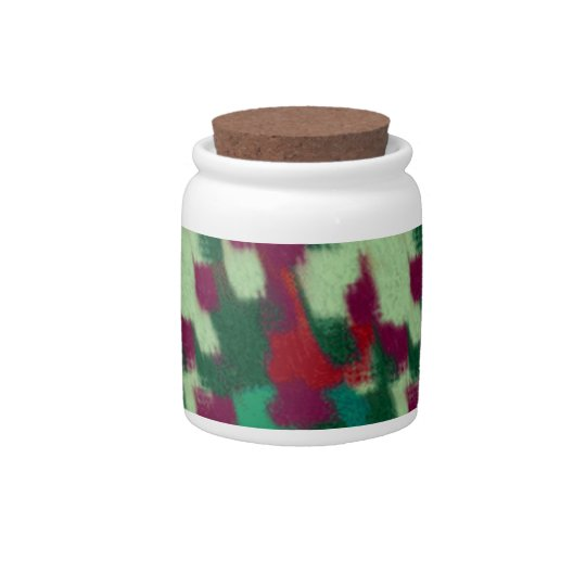 Abstract candy jar